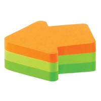 Post-it Notes Kubus 70 x 70 mm Pijl Kleurenassortiment 225 Vellen
