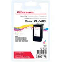 Office Depot Compatibel Canon CL-541 XL Inktcartridge 3 kleuren