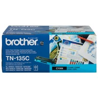 Brother TN-135C Origineel Tonercartridge Cyaan