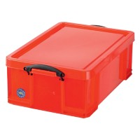 Really Useful Boxes Transportbakken Polypropyleen 48 x 39 x 20 cm Rood