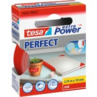 tesa extra Power Textieltape Perfect 19 mm x 2,75 m Rood