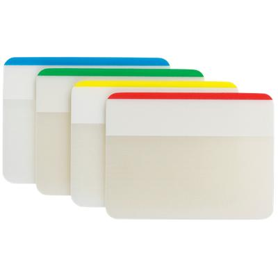 Post-it Strong Indexen Kleurenassortiment Blanco 51 x 38 mm 70 g/m² 4 Stuks à 6 Strips