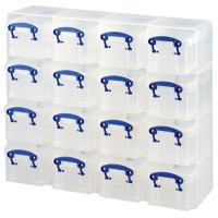 Really Useful Boxes Archiefboxen Transparant Plastic 37,5 x 12,5 x 31 cm