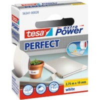 tesa extra Power Textieltape Perfect 19 mm x 2,75 m Wit
