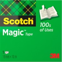 Scotch Magic Tape 810 Plakband Onzichtbaar mat 19 mm x 10 m