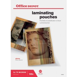 Office Depot Lamineerhoezen glanzend 2 x 75 (150) μm A3 100 stuks