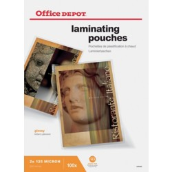 Office Depot Lamineerhoezen glanzend 2 x 125 (250) μm A3 100 stuks