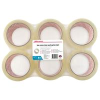 Office Depot Tape Industrieel 48 mm x 66 m Transparant 6 Rollen