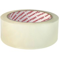 Office Depot Industriële tape Low noise 38 mm x 66 m Transparant