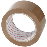 Office Depot Industriële tape Heavy duty 50 mm x 66 m Bruin 6 Rollen