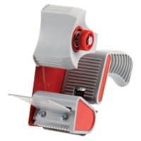 Office Depot Tape dispenser Grijs, rood