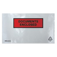 Office Depot Paklijst-enveloppen DL 110 x 220 mm 1000 Stuks
