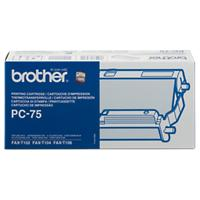Brother PC75B Inktcartridge + Donorrol Zwart