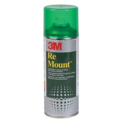 3M Lijmspray Re-Mount™ Multi kleuren