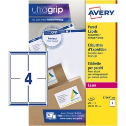 AVERY Zweckform QuickPEEL™ BlockOut™ Adresetiketten Wit 400 stuks