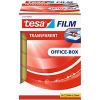 tesafilm Tape 25 mm x 66 m Transparant 6 Rollen