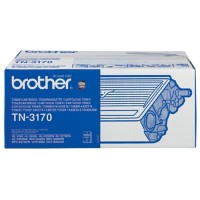 Brother TN-3170 Origineel Tonercartridge Zwart