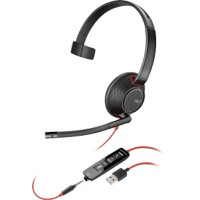 Plantronics Blackwire 5210 USB Headset zwart