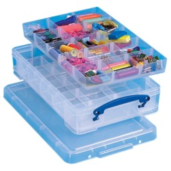 Really Useful Boxes Archiefboxen 15 vakjes A4 Transparant plastic 4 l