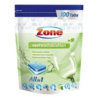 Zone Vaatwastabletten All in one 100 Stuks