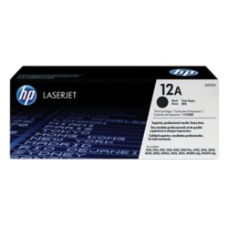 HP 12A Original Tonercartridge Q2612A Zwart