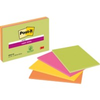 Post-it Zelfklevende notes 152 x 203 mm Kleurenassortiment 4 Stuks à 45 Vellen