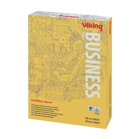 Viking Business Papier A3 80 g/m² Wit 500 vel