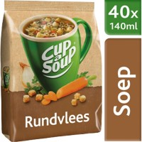 Cup-a-Soup Dispenserzak Rundvlees 653 g