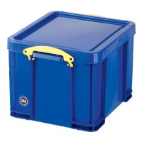 Really Useful Boxes Transportbakken Polypropyleen 48 x 39 x 31 cm Blauw