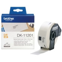 Brother Adresetiketten DK11201 29 x 90 mm Wit 400 Etiketten