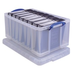 Really Useful Boxes Archiefboxen A4 Transparant plastic 64 l