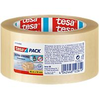 tesapack Verpakkingstape 4124 Ultra Strong 50 mm x 66 m Transparant