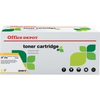 Compatibel Office Depot HP 410A Tonercartridge CF412A Geel
