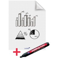 Legamaster Whiteboardvellen Magic Chart A1 Geruit 25 Vellen