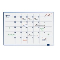 Legamaster Whiteboard Maandplanner Accents Wit 90 x 60 cm