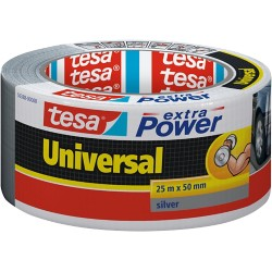 tesa Ducttape extra Power 48 mm x 25 m Grijs