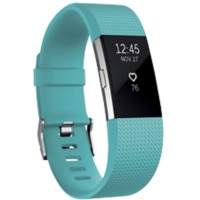 Fitbit Activiteitsmeter Charge 2 large Petrol, zilver