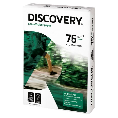 Discovery Papier A4 75 g/m² Wit 500 vel