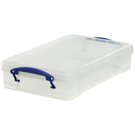 Really Useful Boxes Archiefboxen A4 Transparant plastic 4 l
