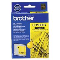 Brother LC1000Y Origineel Inktcartridge Geel