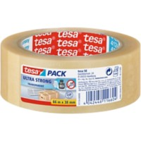tesapack Verpakkingstape Ultra Strong 38 mm x 66 m Transparant