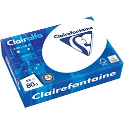 Clairefontaine 2800 Papier A5 80 g/m² Wit 500 vel