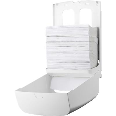 Hand Towel Dispenser Large Plastic White 29 x 14.5 x 42.5 cm Muurbevestiging
