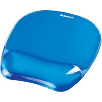 Fellowes Muismat Crystals Gel Blauw
