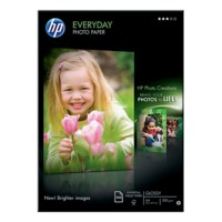 HP Everyday Inkjet fotopapier A4 Glanzend 200 g/m² 210 x 297 mm Wit 100 Vellen