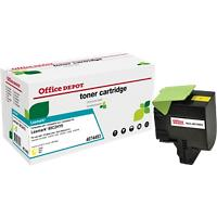 Office Depot Compatibel Lexmark 802HY Tonercartridge Geel