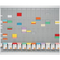 Nobo T-kaart jaarplanner 12 Month T-Card Kit