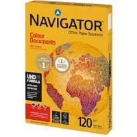 Navigator Colour Documents Papier A4 120 g/m² Wit 250 Vellen