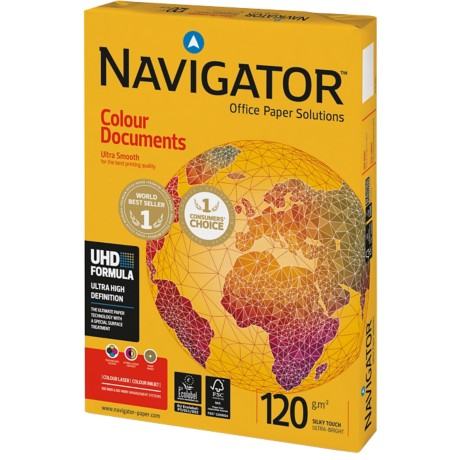 Navigator Colour Documents Papier A4 120 g/m² Wit 250 vel