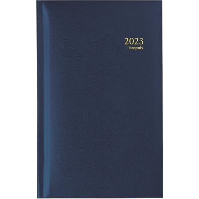 Brepols Zakagenda Interplan Lima 1 Week per 2 pagina's 2021 Blauw
